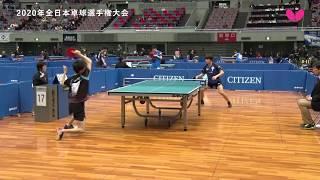 【2020年全日本卓球】デイリーハイライト(Day 3)岸川聖也・三部航平 thumbnail