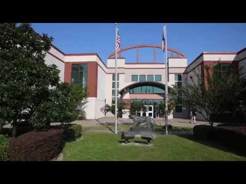 Silsbee High School after Hurricane Harvey