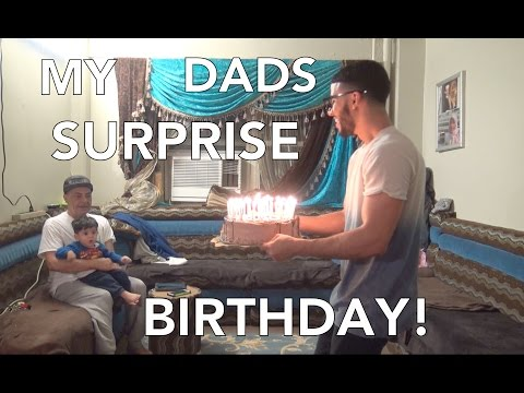 MY DAD'S 66th SURPRISE BIRTHDAY!!!