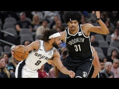 Patty Mills 7 3s! Dinwiddie 41 Points Vs Spurs! 2019-20 NBA Season