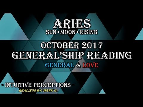 ARIES: You're The Bigger Person? Oct 2017 Love & General Tarot