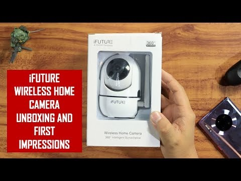 Jobert Unboxes And Sets Up Ifuture Wireless Home Camera Youtube