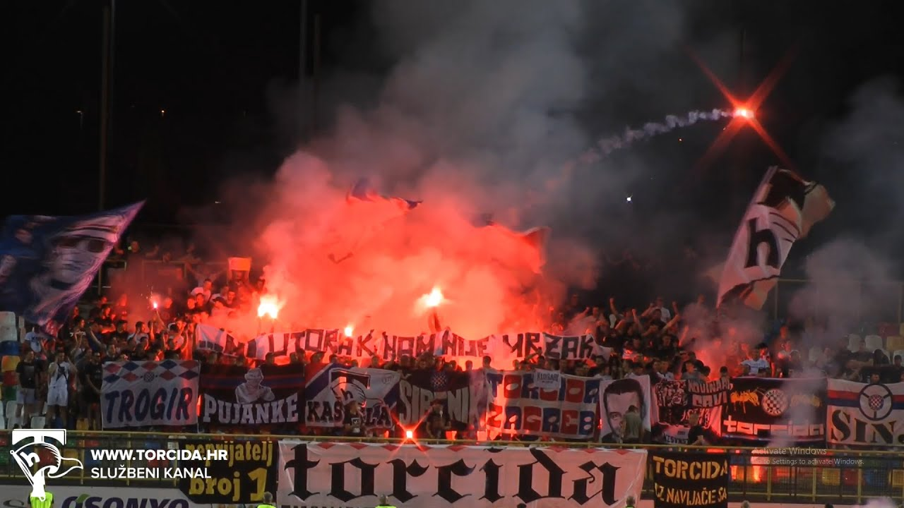 Torcida Split / HNK Gorica - HNK Hajduk Split 3:1 (32. kolo HT Prva Liga)