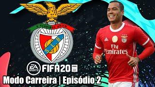 FIFA 20 - Começa a Liga Portuguesa!  (Modo Carreira Benfica #2)