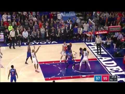 06978604cde5 Derrick Rose Full Highlights vs Philadelphia Sixers (2017.01.11)  25 ...