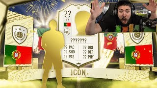 INSANE MID ICON PACKED!! 10 MID ICON PACKS!! FIFA 20
