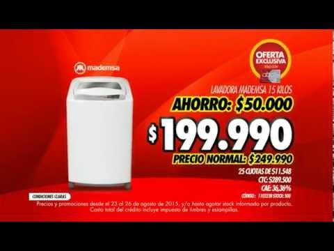 Abcdin Lavadora Mademsa Evoluzione 15 Kilos Bxg Youtube