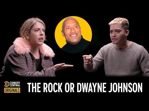 Dwayne Johnson or The Rock? – Agree to Disagree