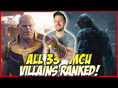 All 33 MCU Villains Ranked From Worst to Best