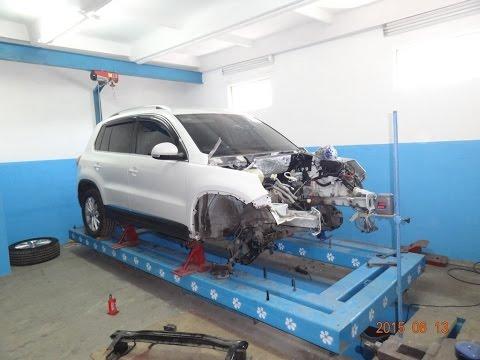 Volkswagen Tiguan.  повреждения. разборка.