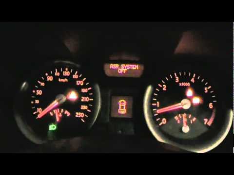 renault megane ii asr esp abs test part 1 technical info in hungarian youtube