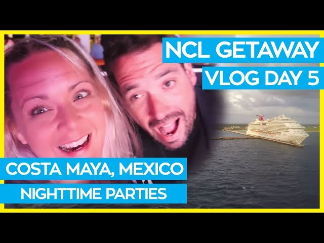 Totally Awesome 80s Party | Norwegian Getaway Cruise Vlog Day 05