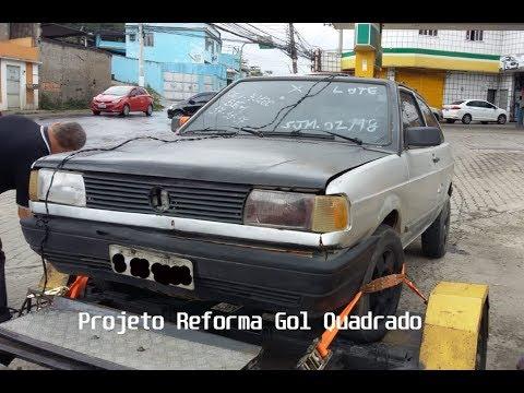Projeto Reforma Gol Quadrado CL 1.8 AP 1993 - Início de tudo
