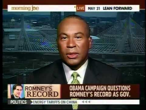 MA Gov. Deval Patrick on Romney
