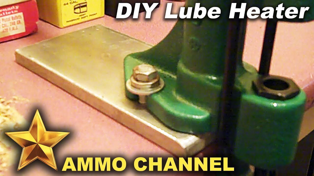 Poor man's lube heater for RCBS Lube-a-Matic or Lyman bullet sizer for lead  cast bullets