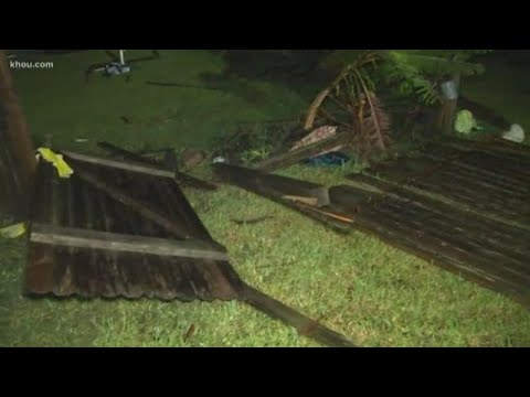 Storms leave trail of damage in parts of Houston area