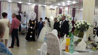 День свадьбы ..я свекровь, аж растерялась