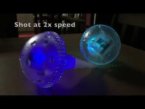 SolarDuke 7 Color-Changing Magic Mushroom Solar Garden Lights