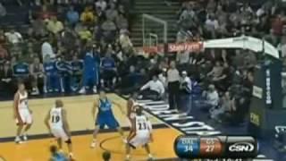 NBA Regular Season 2009/2010: Rodrigue Beaubois 40 points