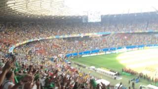 Algeria v Belgium national anthem ( hymne Algerien)