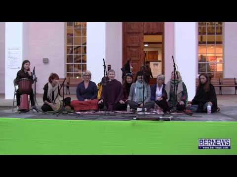 Kirtan Group At Earth Hour, Mar 23 2013