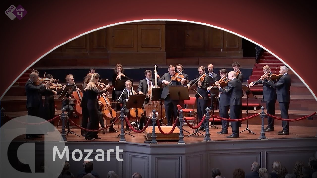 Mozart Symphony No 29 In A Major K 201 Concertgebouw Chamber Orchestra Live Concert Hd Youtube