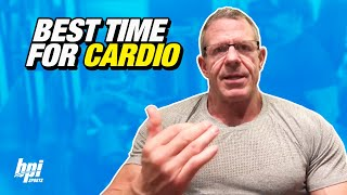 When is the Best Time to do Cardio? Bodybuilding Competitors Q&A with Kevin DeHaven