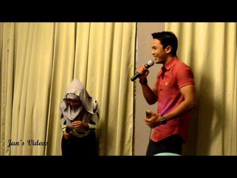 Syarul Ridzwan sings Kuch kuch hota hai