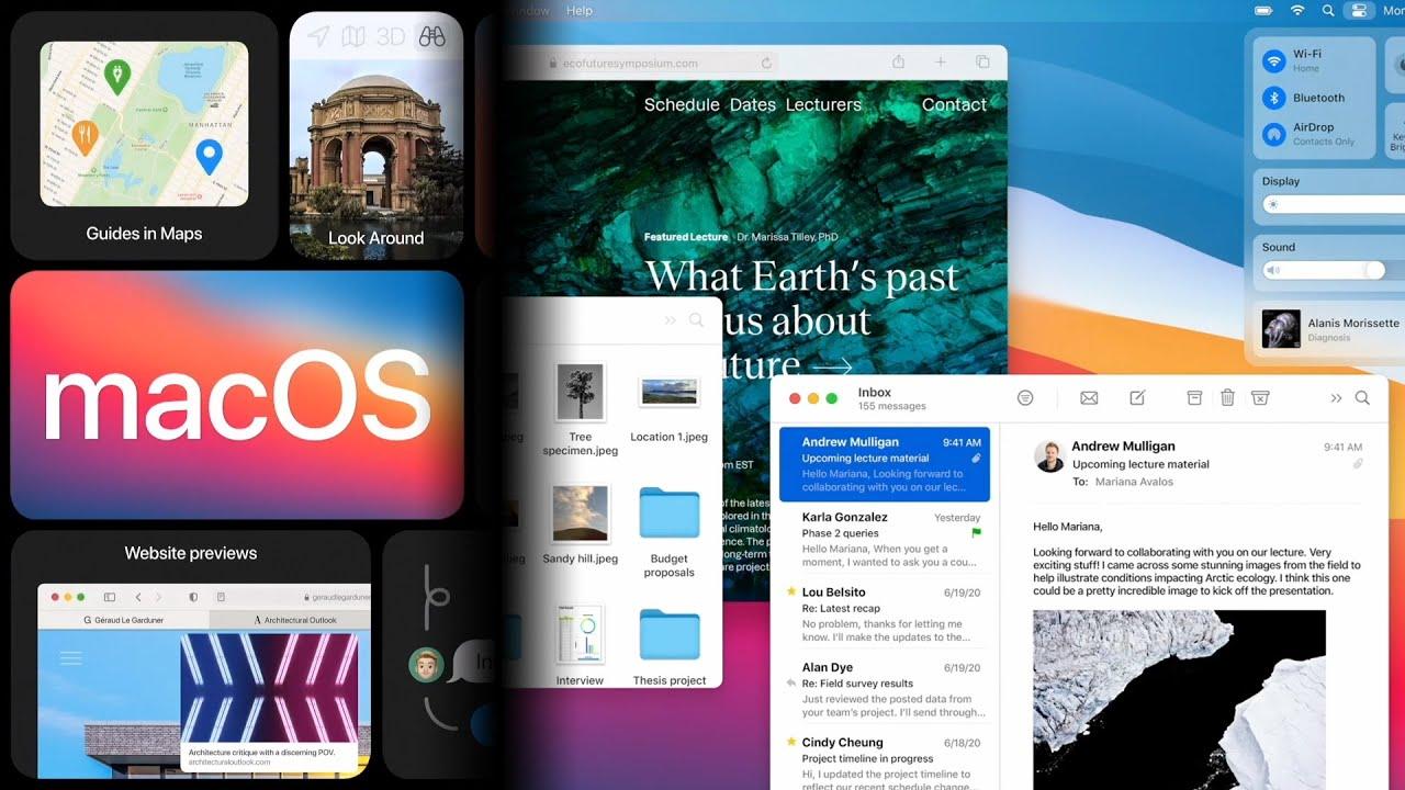 macOS 11 Big Sur Announcement in 9 Minutes