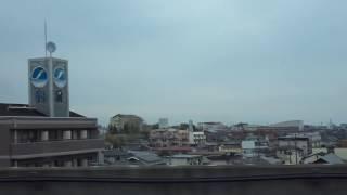 E6系 東北新幹線 はやぶさ51号 仙台駅到着車窓風景