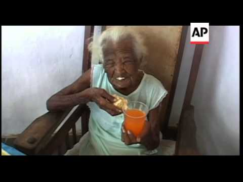 Interview with woman who says she's celebrating her 127th birthday