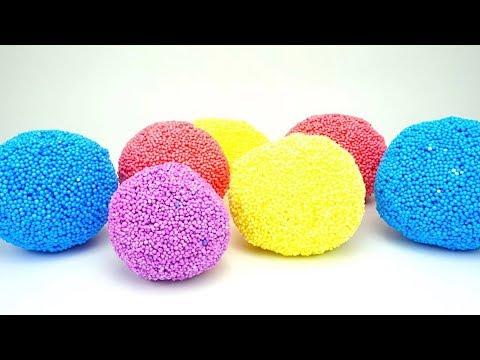 Сюрпризы из шарикового пластилина
