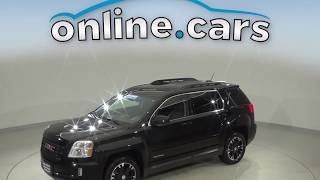 A11300TA Used 2017 GMC Terrain SLT AWD Black SUV Test Drive, Review, For Sale
