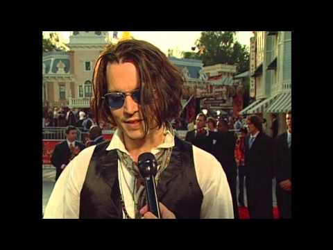 """Pirates of the Caribbean: At World's End: Premiere Johnny Depp """"Jack Sparrow"""" Interview"""