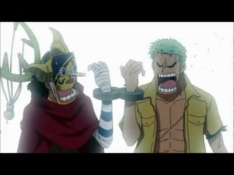 Funny One Piece - Sogeking and Zoro Handcuffed