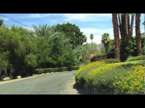 The Mesa, Palm Springs, CA - Driving Tour of Celebrity Enclave
