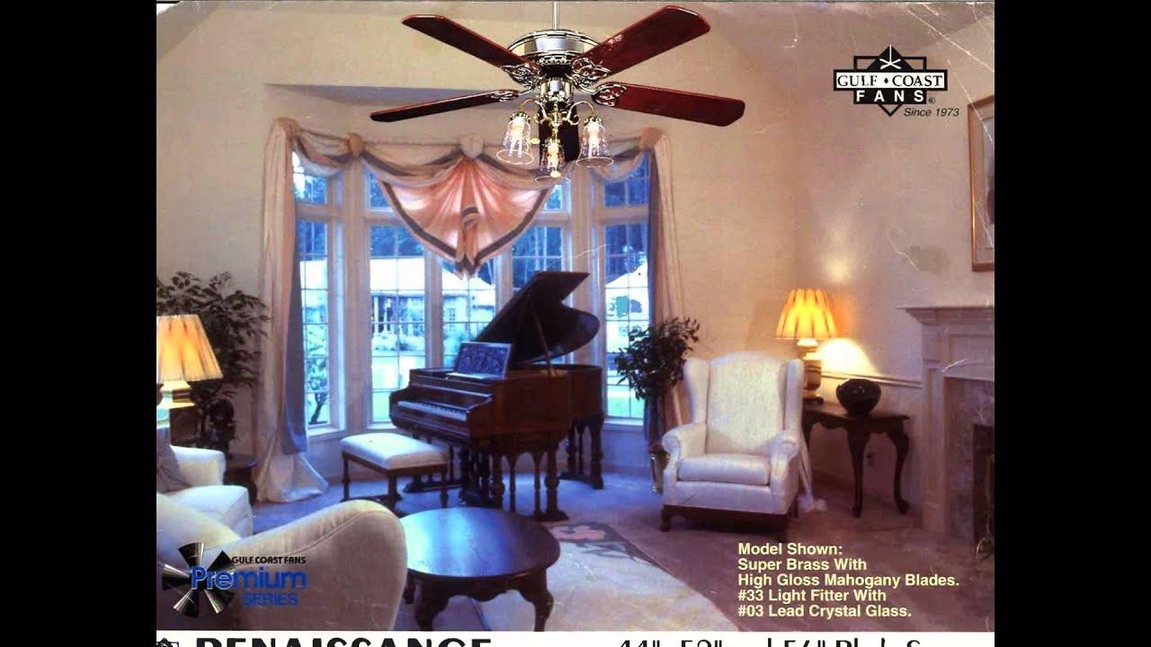 Gulf Coast Dan S Fan City Ceiling Fan Catalog From The