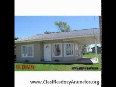 Casas prefabricadas americanas cabanas premoldeada youtube for Modelos de casas prefabricadas americanas