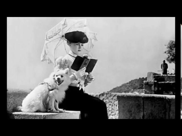 Изображение предпросмотра прочтения – АннаЧерткова представляет буктрейлер кпроизведению «Дама с собачкой» А.П.Чехова
