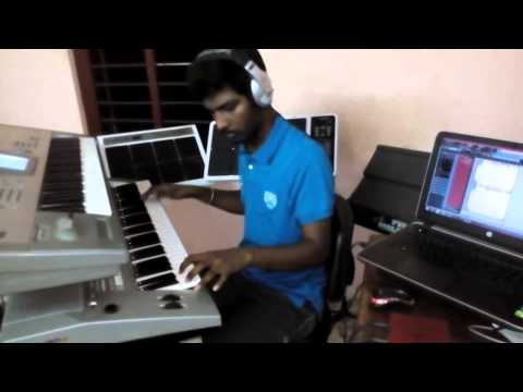 Vijay's Puli - Yaendi Yaendi Song in Keyboard