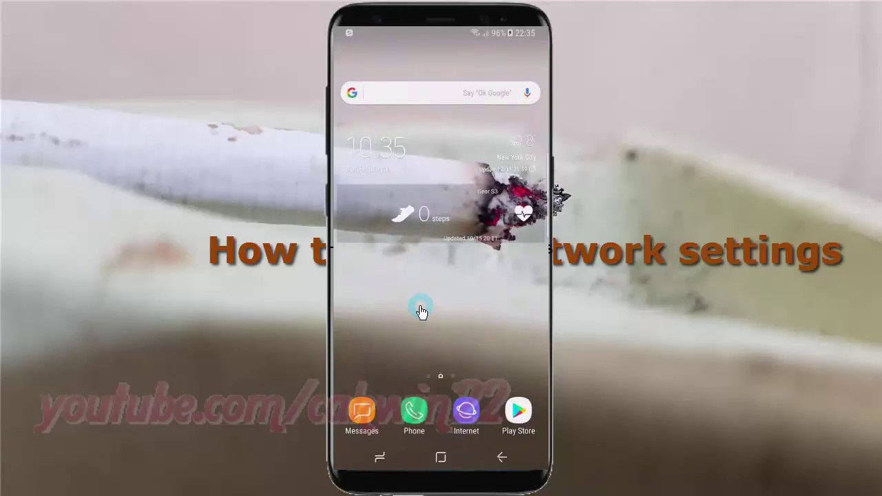 reset how to keep network settings android