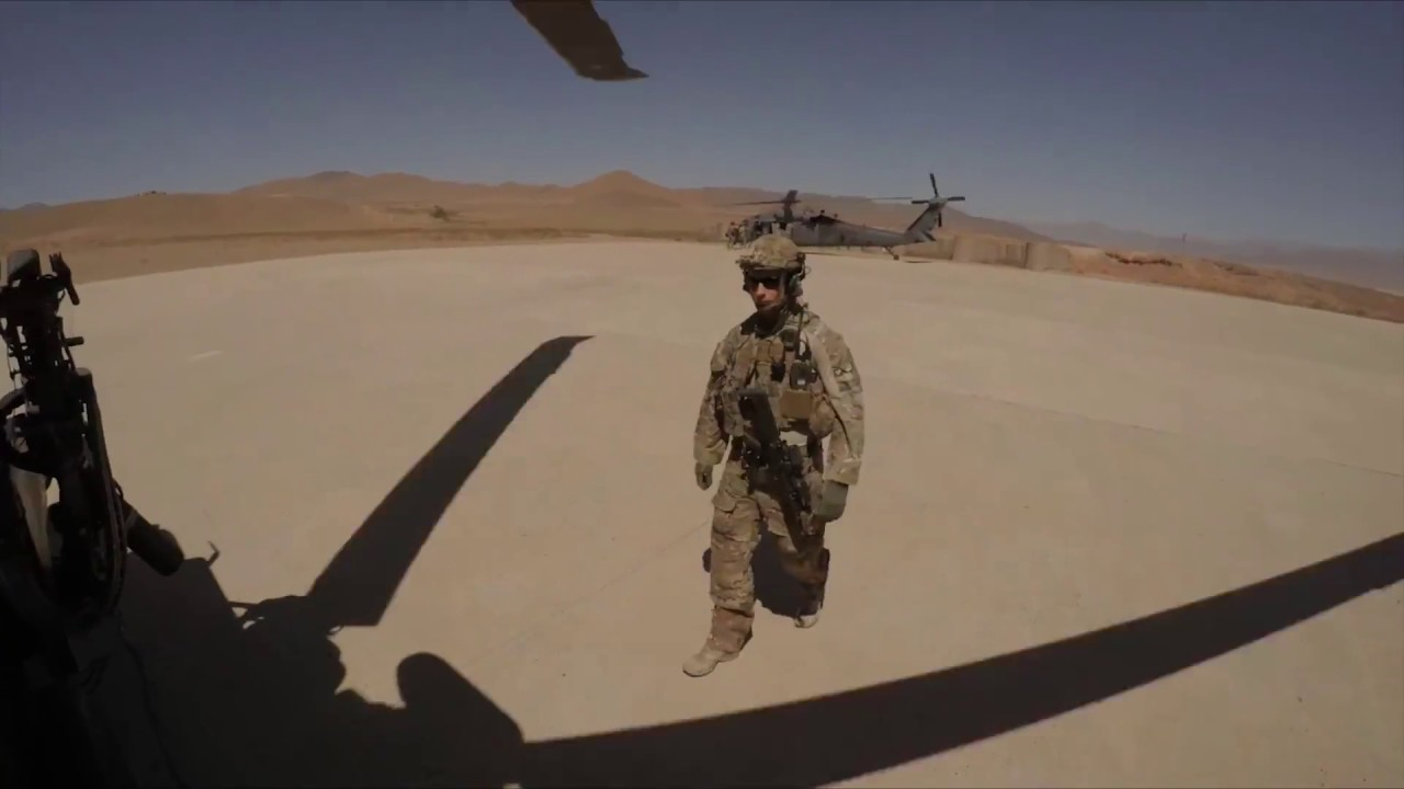 US Special Forces in Afghanistan 2016 - Helmet Cam GoPro | Combat Action Training
