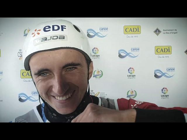 Cedric Joly France C1 Gold / 2019 ICF Canoe Slalom World Championships La Seu d'Urgell Spain