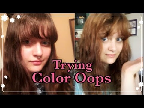 Does Color Oops Work On Black Hair Youtube