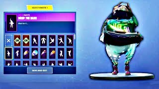 DROP THE BASS Fortnite Emote BASS BOOSTED EARRAPE Meme