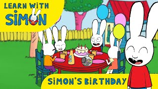 Simon - Simon's birthday [Official] Cartoons for Children