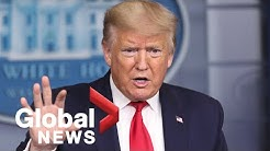 Coronavirus outbreak: Trump says projections could be lower than expected, hints at reopening