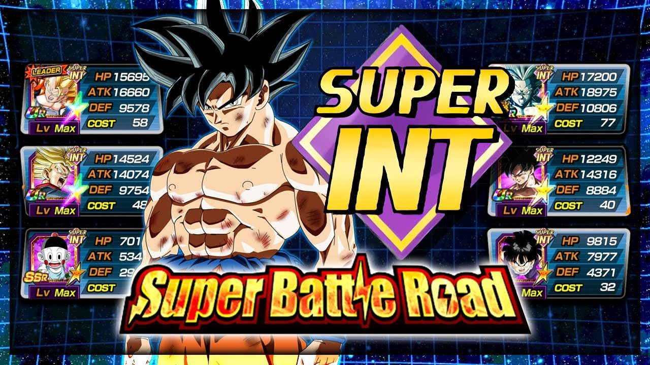 THE POWER OF ULTRA INSTINCT! SUPER INT SUPER BATTLE ROAD! - Dragon Ball Z  Dokkan Battle