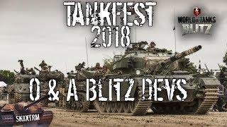 Tankfest  2018 - Wot Blitz Dev Q & A