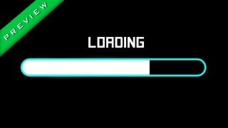 Loading Progress Bar Intro / Effect - Free Download (Sony Vegas Pro 11 / 12 Template + Video File)